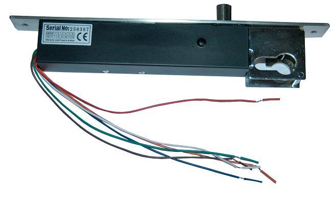 (3)技术参数   锁体尺寸:长260*宽30*高48(mm)   输入电压:dc12v
